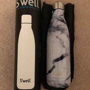Swell Marble Print Bottle